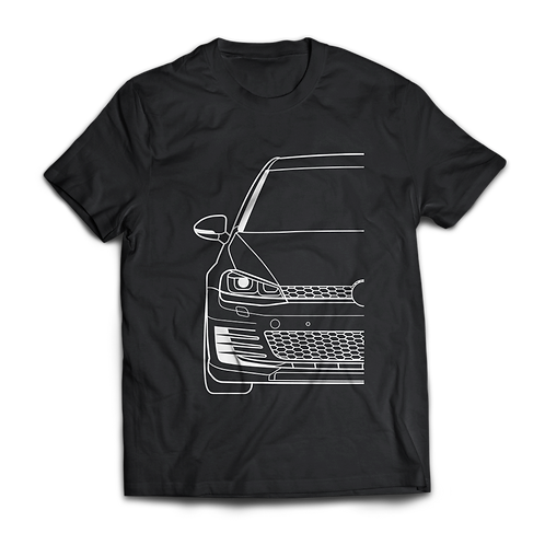 VW Golf MK7 GTI T-Shirt / Tee / Tshirt