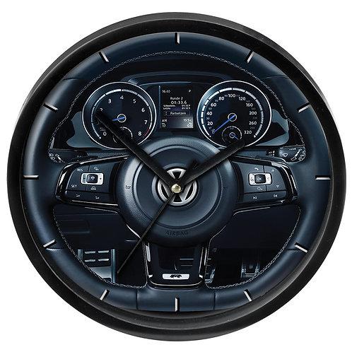 VW Golf MK7 R Wall Clock