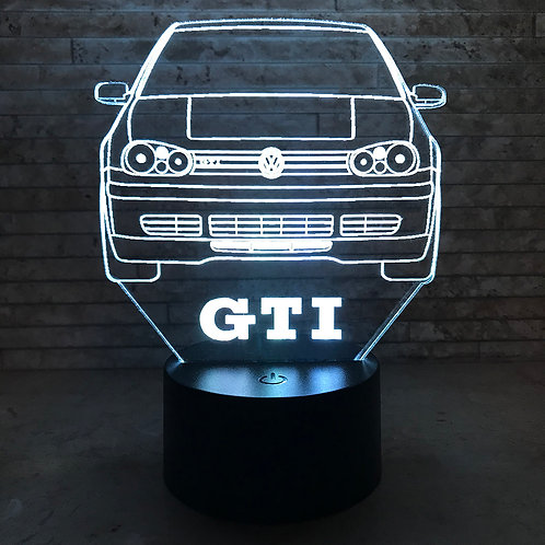 MK4 GTI 3D LED Lamp