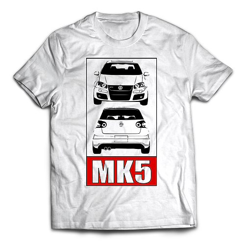 VW Golf MK5 GTI T-Shirt / Tee / Tshirt
