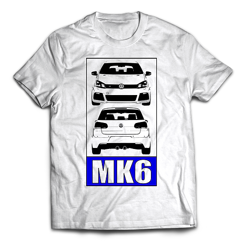 VW Golf MK6 R T-Shirt / Tee / Tshirt