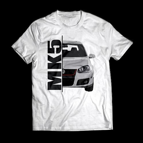 White VW Golf MK5 GTI T-Shirt / Tee / Tshirt