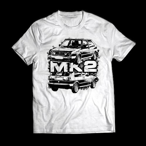 VW Golf MK2 GTI T-Shirt / Tee / Tshirt