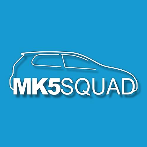 MK5 SQUAD Sticker