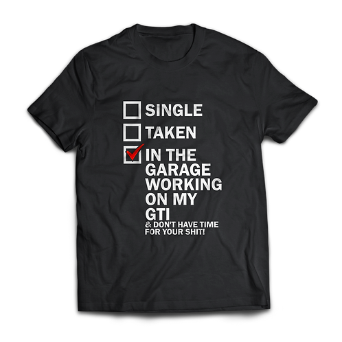 VW Golf GTI T-Shirt / Tee / Tshirt