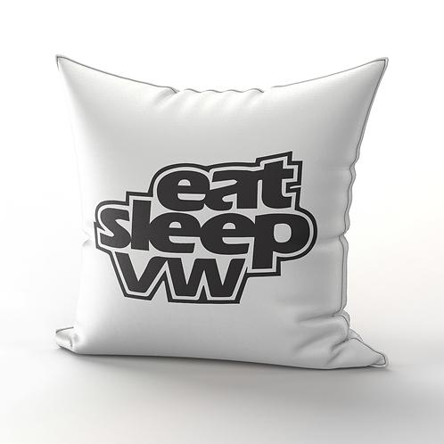 eat, sleep, vw Pillow