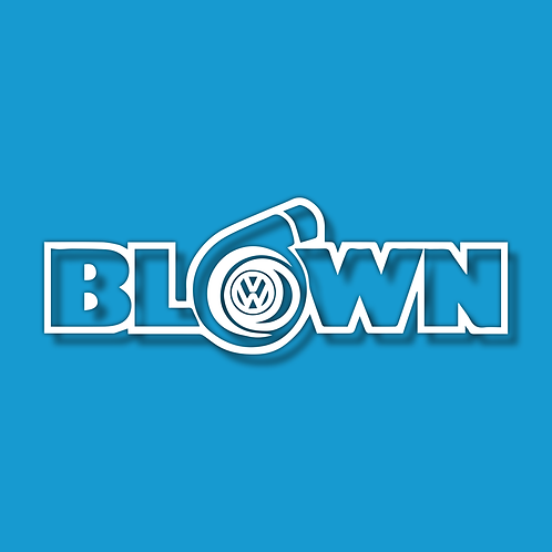 BLOWN Sticker