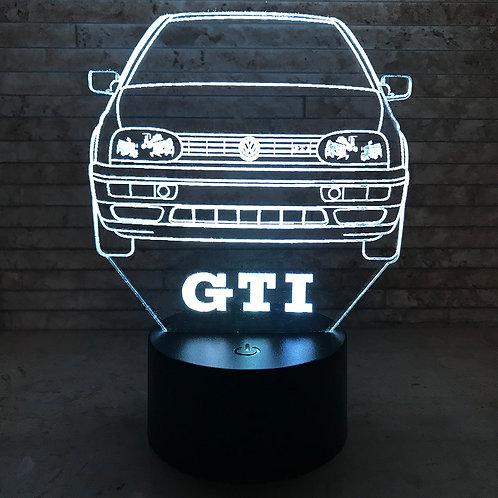 MK3 GTI 3D LED Lamp