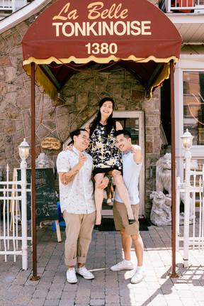 Miche, Anh et Mitch