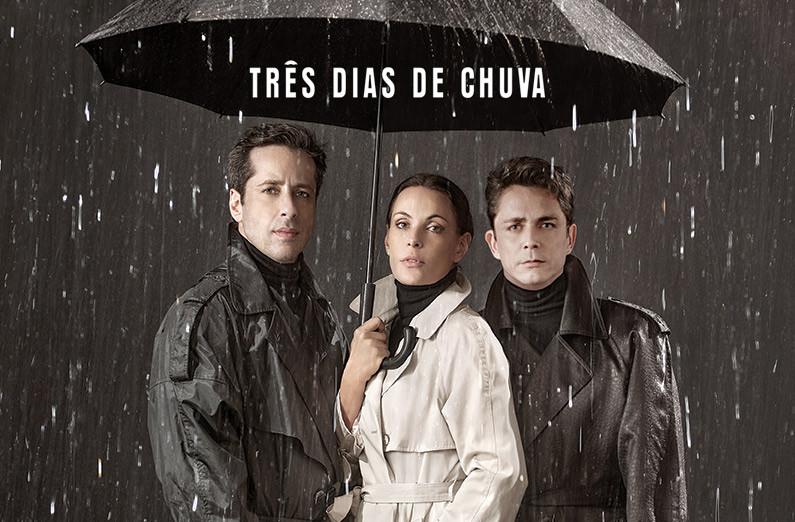 cartaz da peça tres dias de chuva