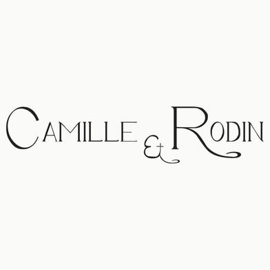 Logomarca para o espetáculo de teatro Camille & Rodin 2012