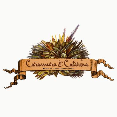 Logomarca Restaurante Caramuru & Catarina 2003