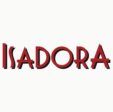 Logomarca para o espetáculo de teatro Isadora 2017