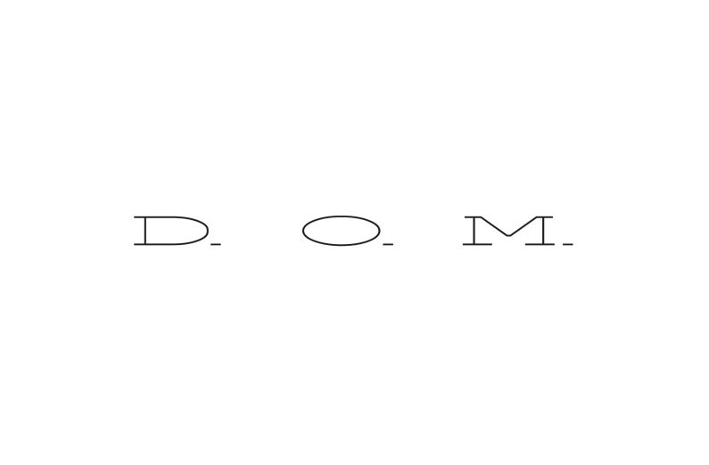 logomarca restaurante d.o.m.
