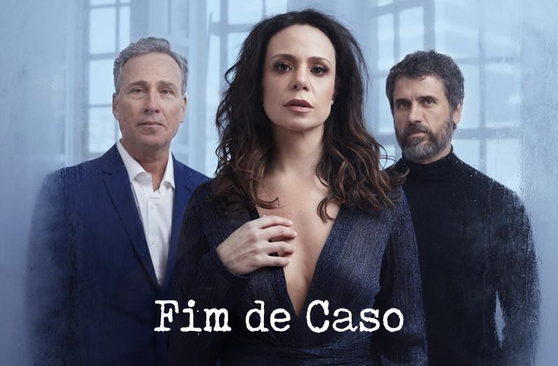 cartaz da peça fim de caso