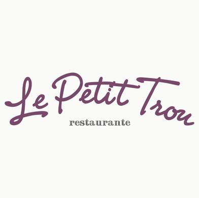 Logomarca Restaurante Le Petit Trou 2007