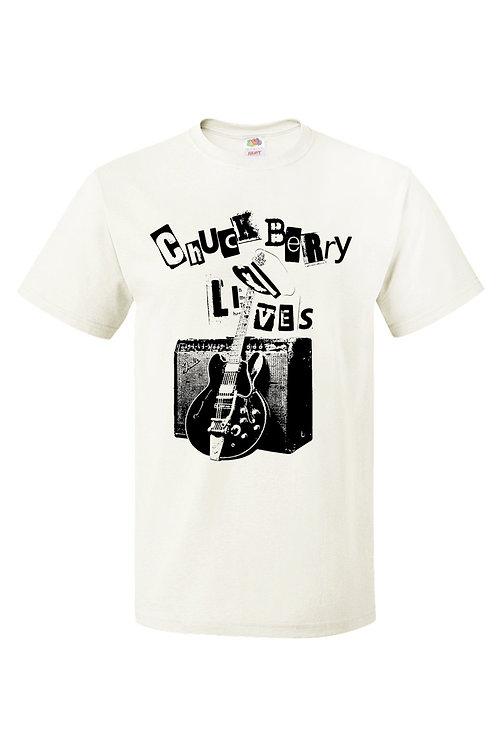 CHUCK BERRY LIVES Unisex T-shirt