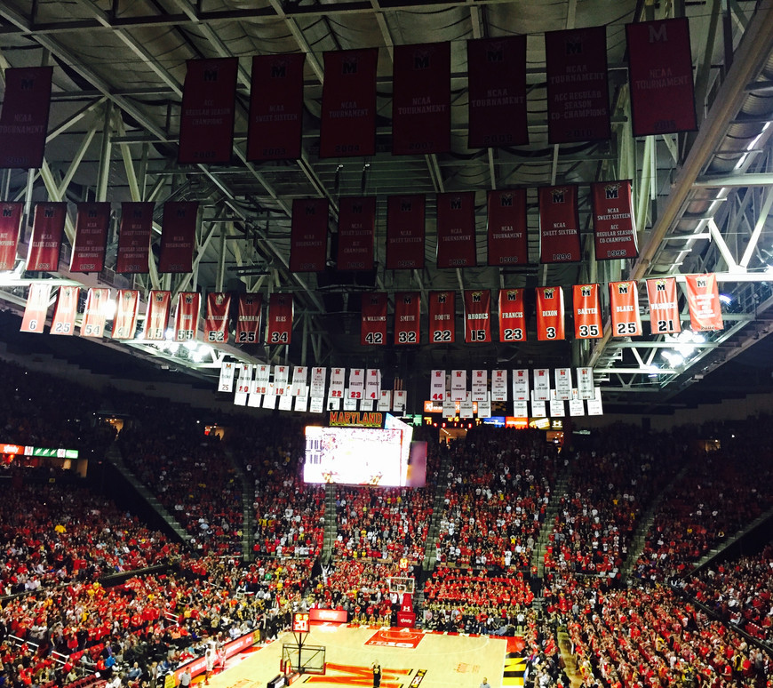 Home of the Terps Basketball!