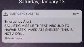Emergency Alerts via Twitter