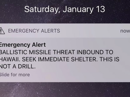 Emergency Alerts via Twitter