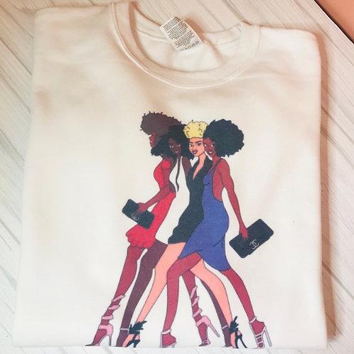 Girls Night Out Sweatshirt