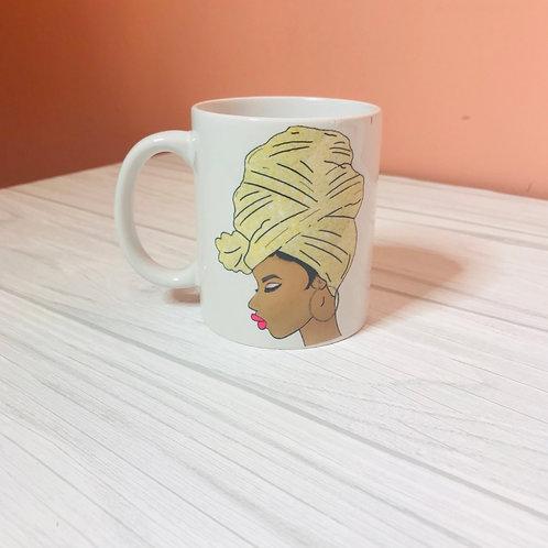 Gold Wrap Mug