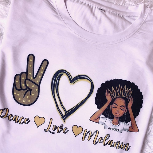 Dope Love Melanin Tee