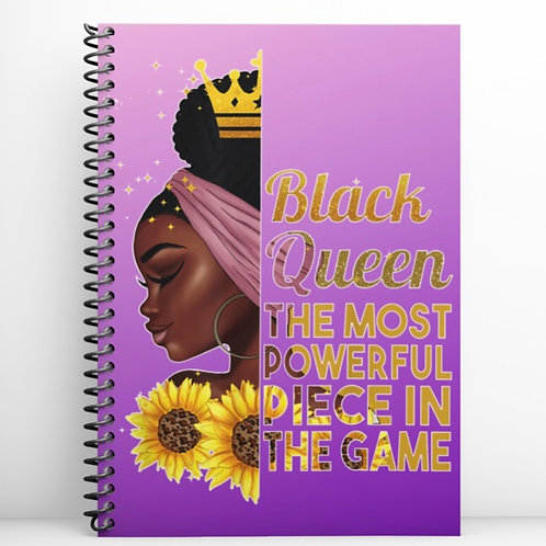 Black Queen 50 page Notebook