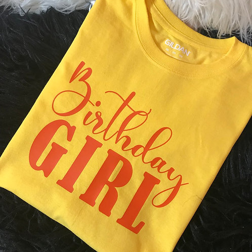 Birthday Girl (Front and Back)