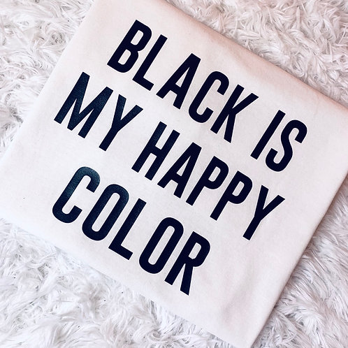 Black Is Happy Color