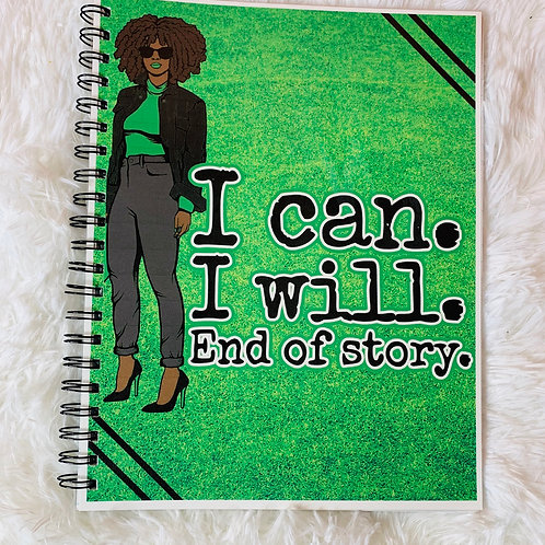 End of Story Notebook 8.5x11 (60 pgs)