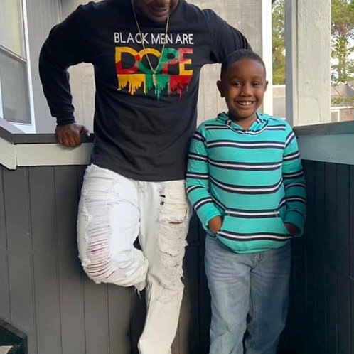 Black Men Are DOPE Longsleeve