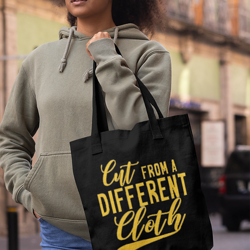 Cut from a different cloth Tote
