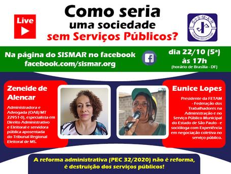 Como seria viver sem serviços públicos?