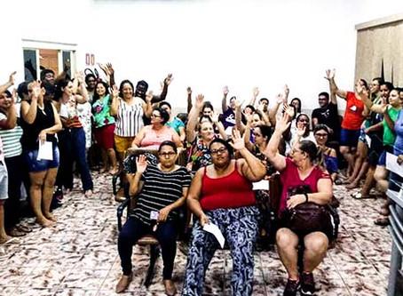 Servidores de Santa Lúcia aprovam reivindicações e aguardam resposta do prefeito