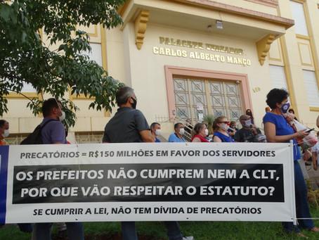 Servidores farão greve geral caso a Prefeitura de Araraquara insista em aprovar o estatuto