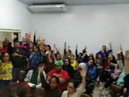Servidores de Santa Lúcia aprovam proposta de 4,94% de reajuste salarial