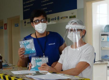 SISMAR continua entrega de máscaras de pano para servidores e terceirizados