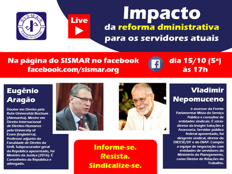 Live debate reforma administrativa
