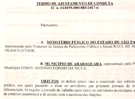 Mentira do vereador: SISMAR não assinou acordo nenhum sobre jornada de trabalho
