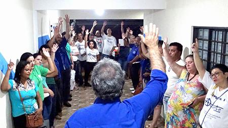 Servidores iniciam coleta de assinaturas para expansão de base territorial do Sindicato