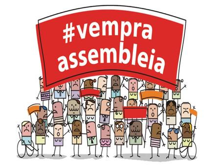 Assembleias diárias da greve da educação em Araraquara