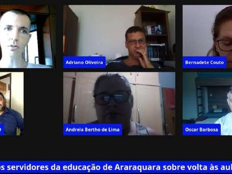 Araraquara: Servidores municipais da Educação farão greve contra o retorno presencial