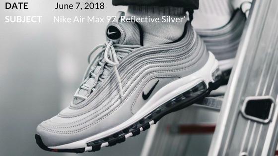 Nike Air Max 97 'Reflective Silver