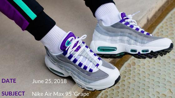 Nike Air Max 95 'Grape'   CREP CHECK #6