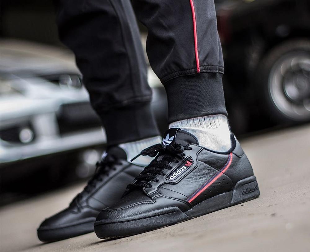 Adidas Continental 80s Black