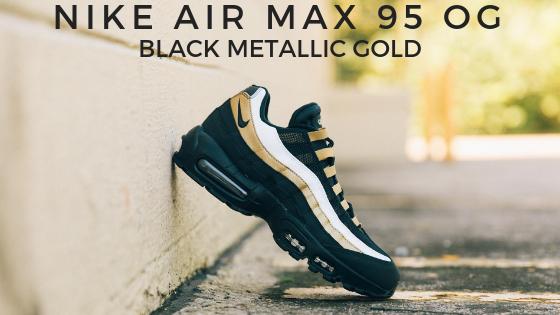 Nike Air Max 95 OG - Black Metallic Gold
