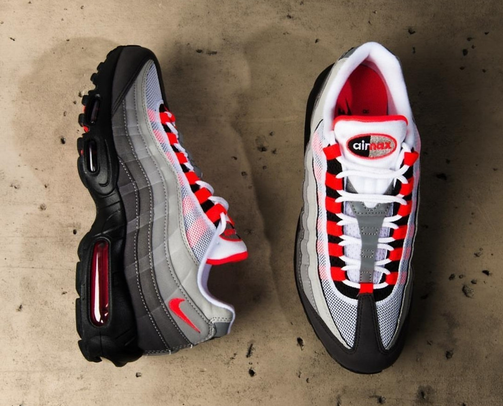 Nike Air Max 95 Solar Red