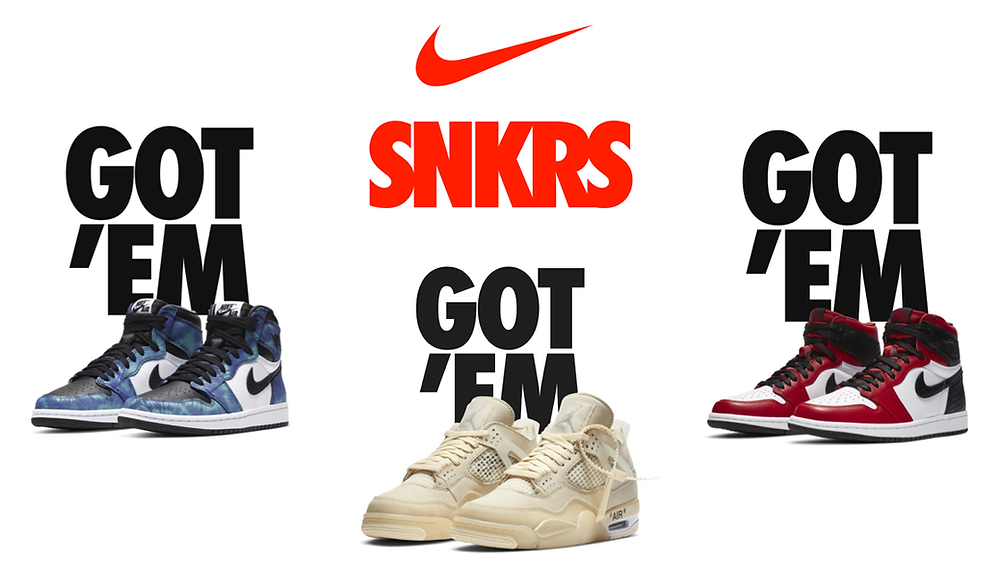 snkrs new releases