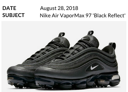 Nike Air VaporMax 97  Black Reflect   92100ac69